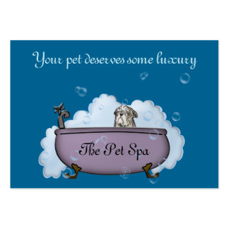 The Pet Spa - papershop Pack Of Chubby Business Cards