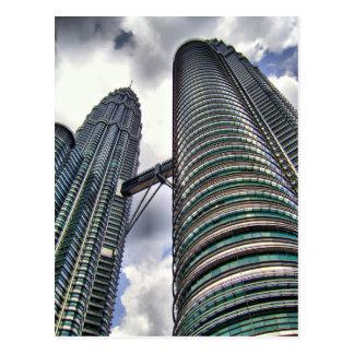 The Petronas Twins Postcard