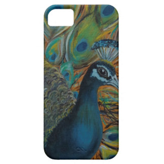 The Petulant Peacock Inspiring Phonecase iPhone 5 Cases