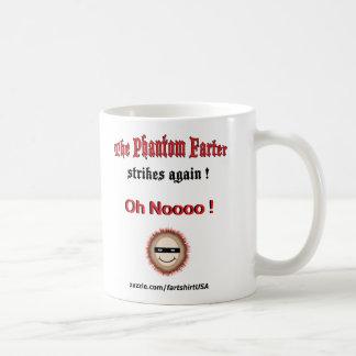 The Phantom Farter strikes again (Mug) Coffee Mug