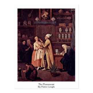 The Pharmacist By Pietro Longhi Postcard