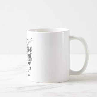 The phase state plum 澤 left coffee mug