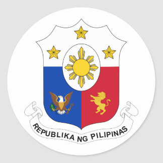 the Philippines, Philippines Classic Round Sticker