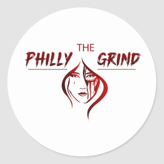 The Philly Grind Sticker