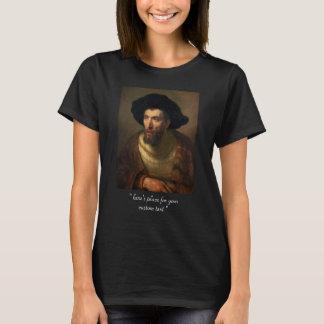 The Philosopher  Rembrandt baroque portrait art T-Shirt