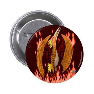 The Phoenix 6 Cm Round Badge