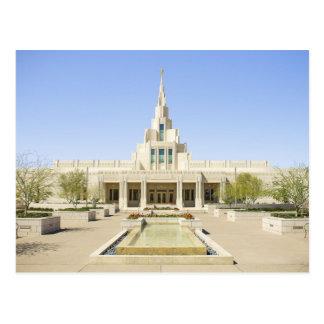 The Phoenix Arizona LDS Temple Postcard