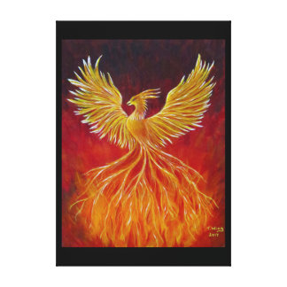 The Phoenix Canvas Print