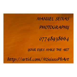 The Photography Business Cards