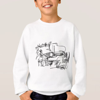 The Pianist - Piano Theme Sweatshirt