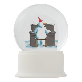 The Pianist Snow Globes
