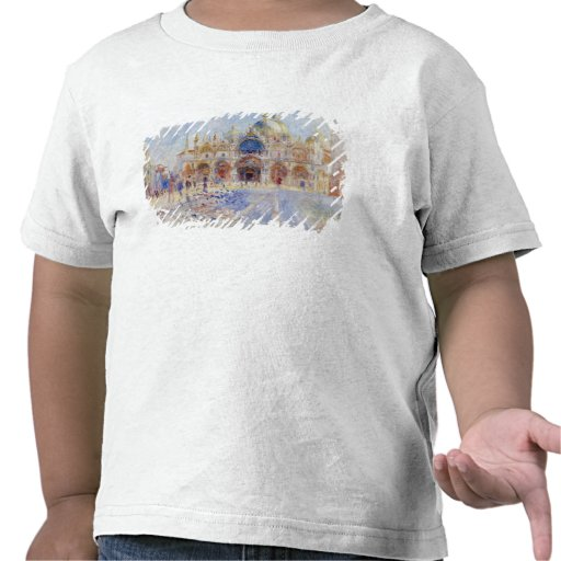 The Piazza San Marco, Venice, 1881 (oil on canvas) Tee Shirts