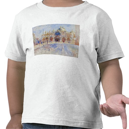 The Piazza San Marco, Venice, 1881 (oil on canvas) Shirts