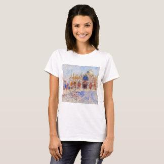 The Piazza San Marco, Venice by Renoir T-Shirt