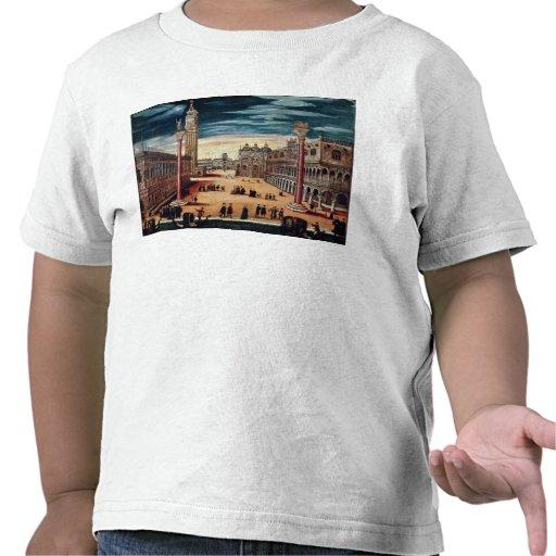 The Piazzetta di San Marco, Venice T-shirts