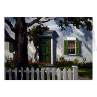 The Picket Fence Note Card