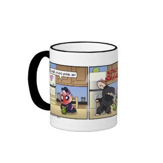 The Pickle Ninja Ringer Mug