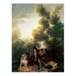 The Picnic, 1785-90 Postcard