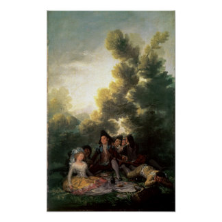 The Picnic, 1785-90 Poster