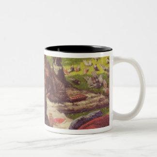 The Picnic , c.1881-2 Two-Tone Coffee Mug