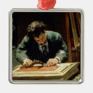 The Picture Framer, 1878 Christmas Ornaments