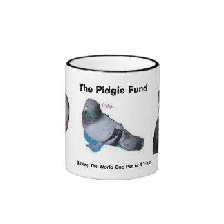 The Pidgie Fund: Saving the World... Coffee Mug
