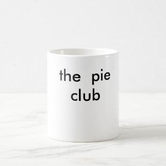 the  pie club basic white mug