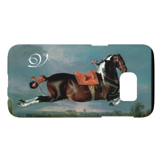 "The Piebald Horse ""Cehero' Rearing Monogram"
