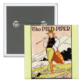 The Pied Piper Children's Nursery 15 Cm Square Badge