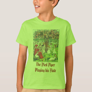 The Pied Piper Playing his Flute T-Shirt