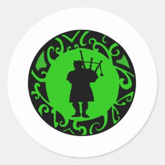 The Pied Piper Round Sticker