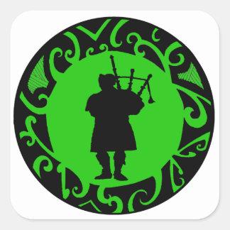The Pied Piper Square Sticker