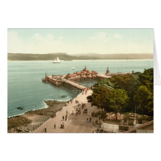 The Pier at Dunoon, Argyll and Bute, Scotland Card