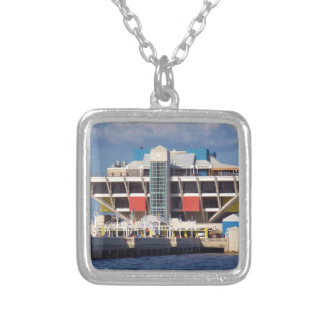 The Pier Silver Plated Necklace