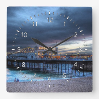 The Pier Square Wall Clock