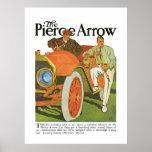 The Pierce Arrow Automobile Vintage Ad Art Poster