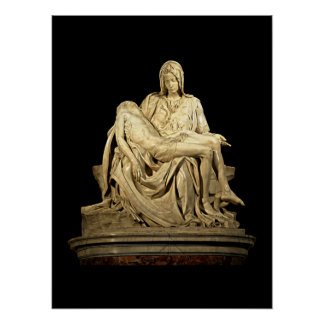 The Pieta by Michelangelo Posters