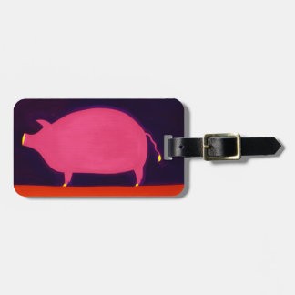 The Pig 1998 Luggage Tag