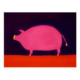 The Pig 1998 Postcard