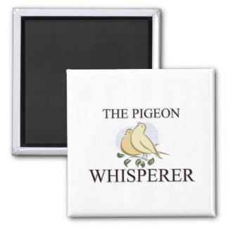 The Pigeon Whisperer Refrigerator Magnets