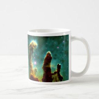 The Pillars of Creation Basic White Mug