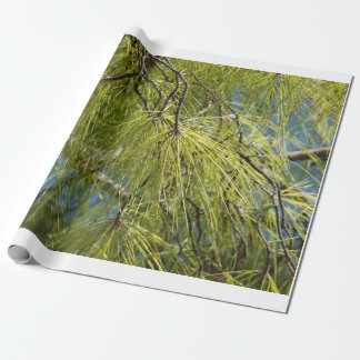 The Pine Bow Wrapping Paper