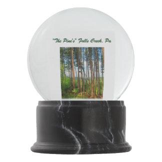 The Pine's Falls Creek, Pa Snow globe Snow Globes