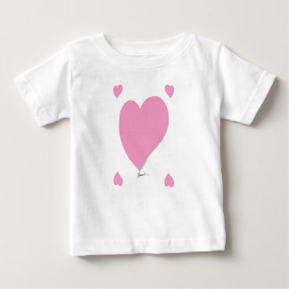 the pink hearts baby T-Shirt