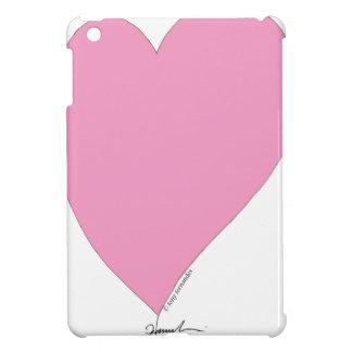 the pink hearts iPad mini cover