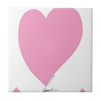 the pink hearts tile