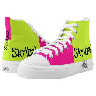 the pink lemonades printed shoes
