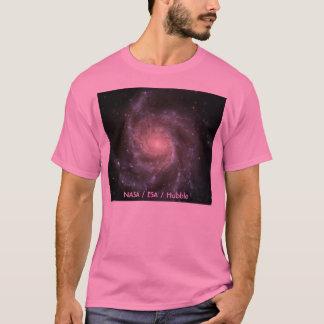 The Pinwheel Galaxy, NASA / ESA / Hubble T-Shirt