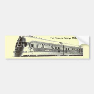 The Pioneer Zephyr 1934 Bumper Sticker
