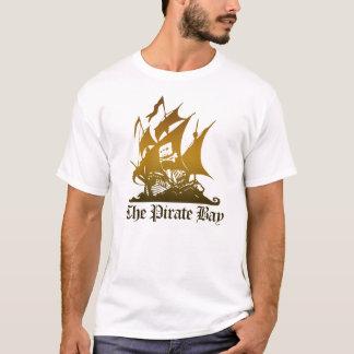 The Pirate Bay Brown Logo Tee